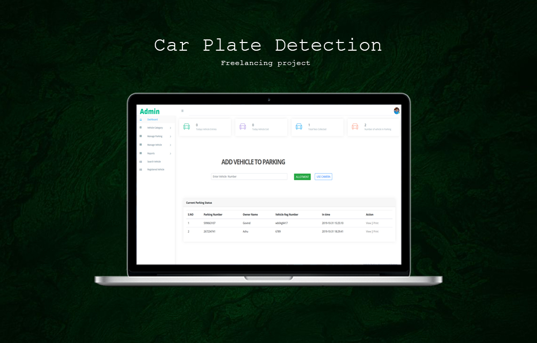 Car Plate Detection